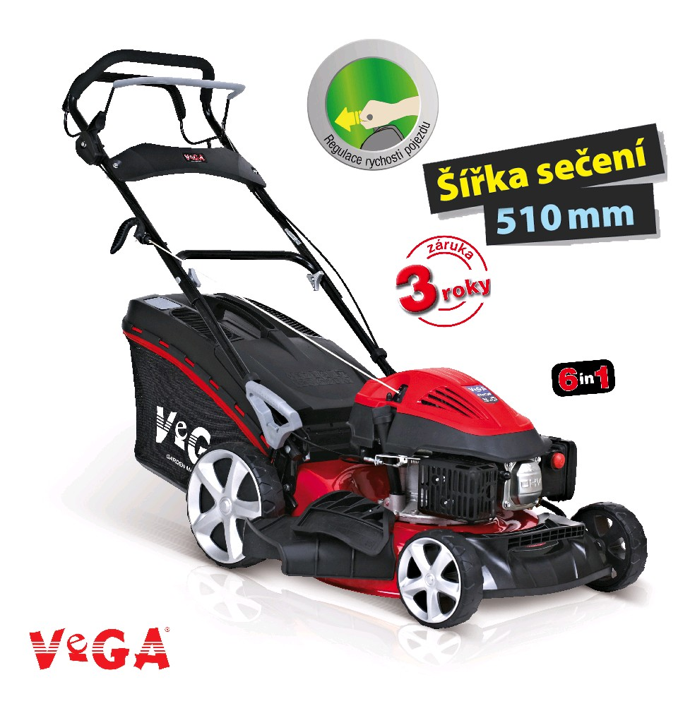 Sekačka benzínová VeGA 51 HWXV 6in1