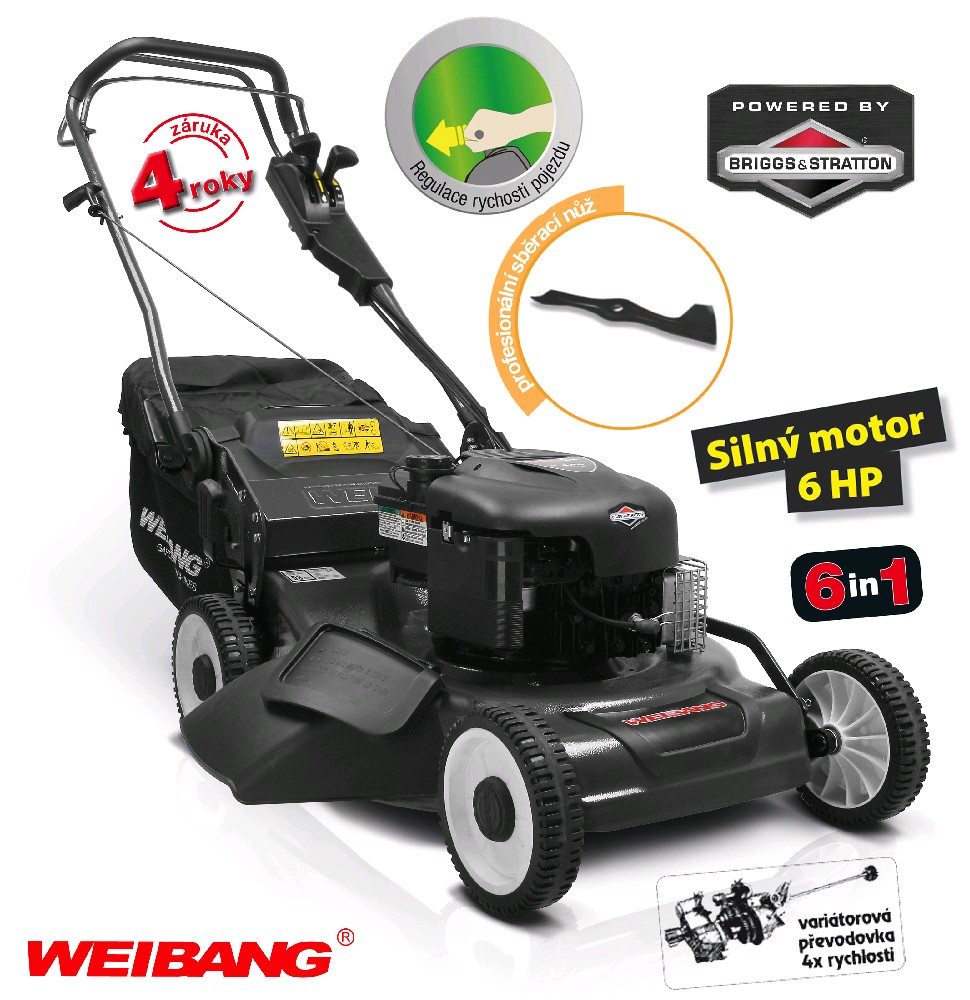 Weibang WB 536 SBV 6in1 BL