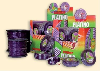 Struna Super Platino, zuby, 2,7mm, 15m