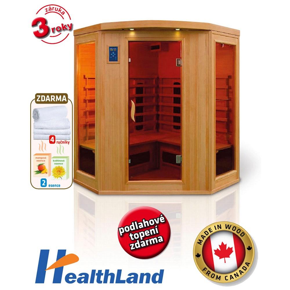 HealthLand DeLuxe 4440 CB/CR infrasauna