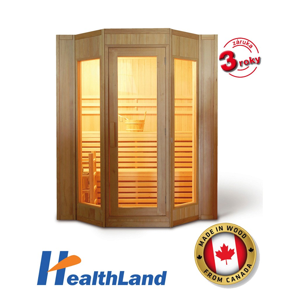 HealthLand DeLuxe HR4045 sauna