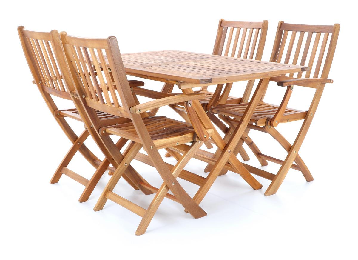 Masívne záhradné sedenie PRINCE VeGA 4