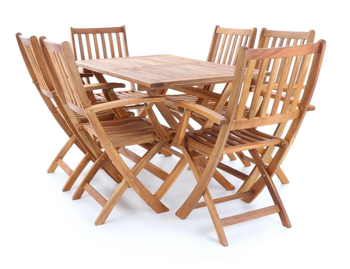 Masívne záhradné sedenie PRINCE VeGA 6