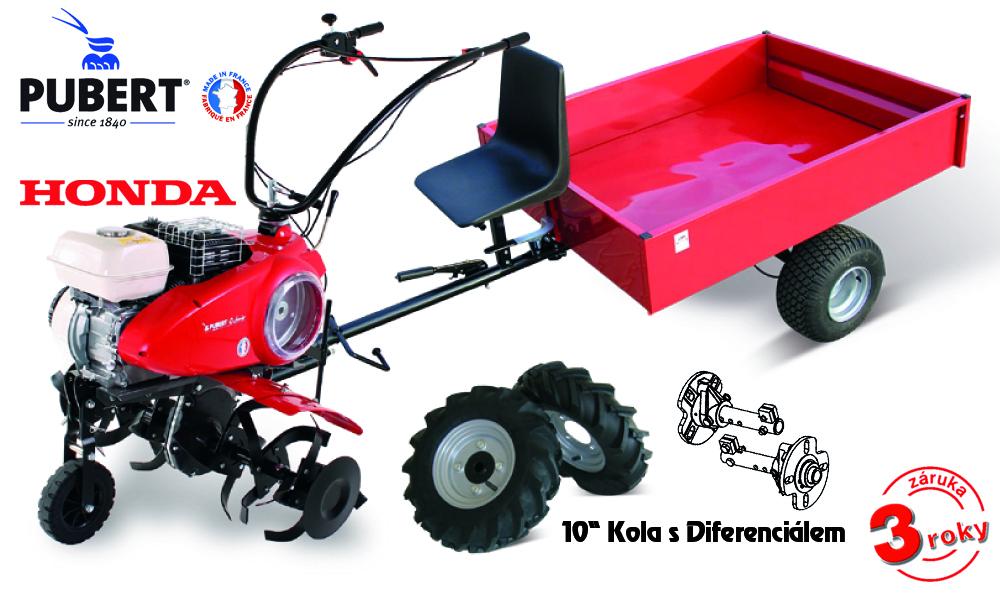 PUBERT SET7 s vozíkem VARES IT 500 + sestavení + příprava k provozu + záruka 3 roky bez omezení