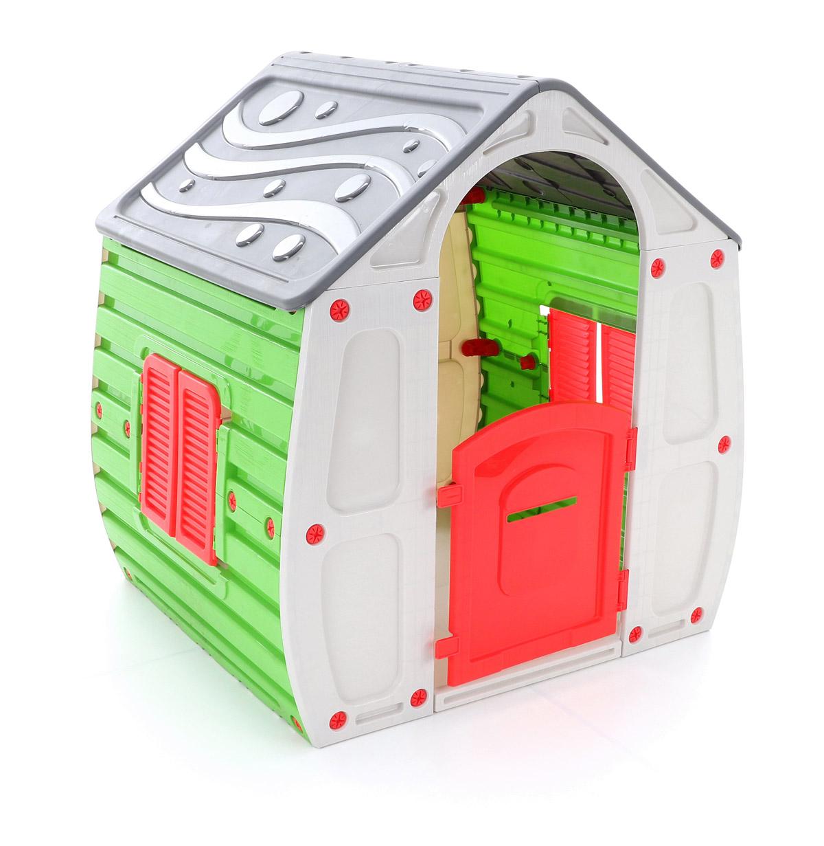STARPLAST Magical House grey/green