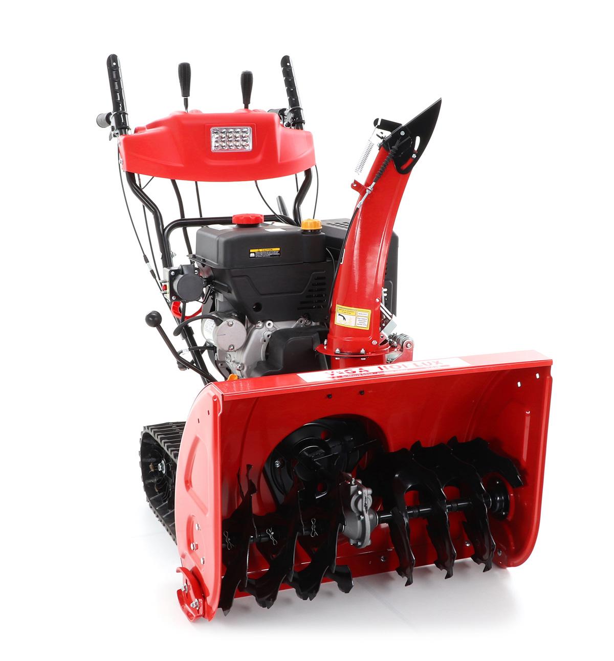 VeGA 1101 LUX sněhová fréza + sestavení + příprava k provozu