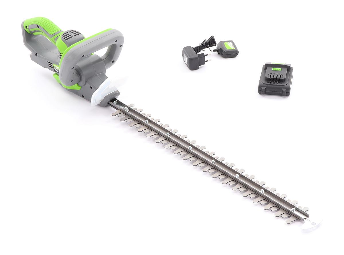 VERDEMAX TS20 akumulátorové nůžky na živý plot (včetně nabíječky a akumulátoru 2 Ah)