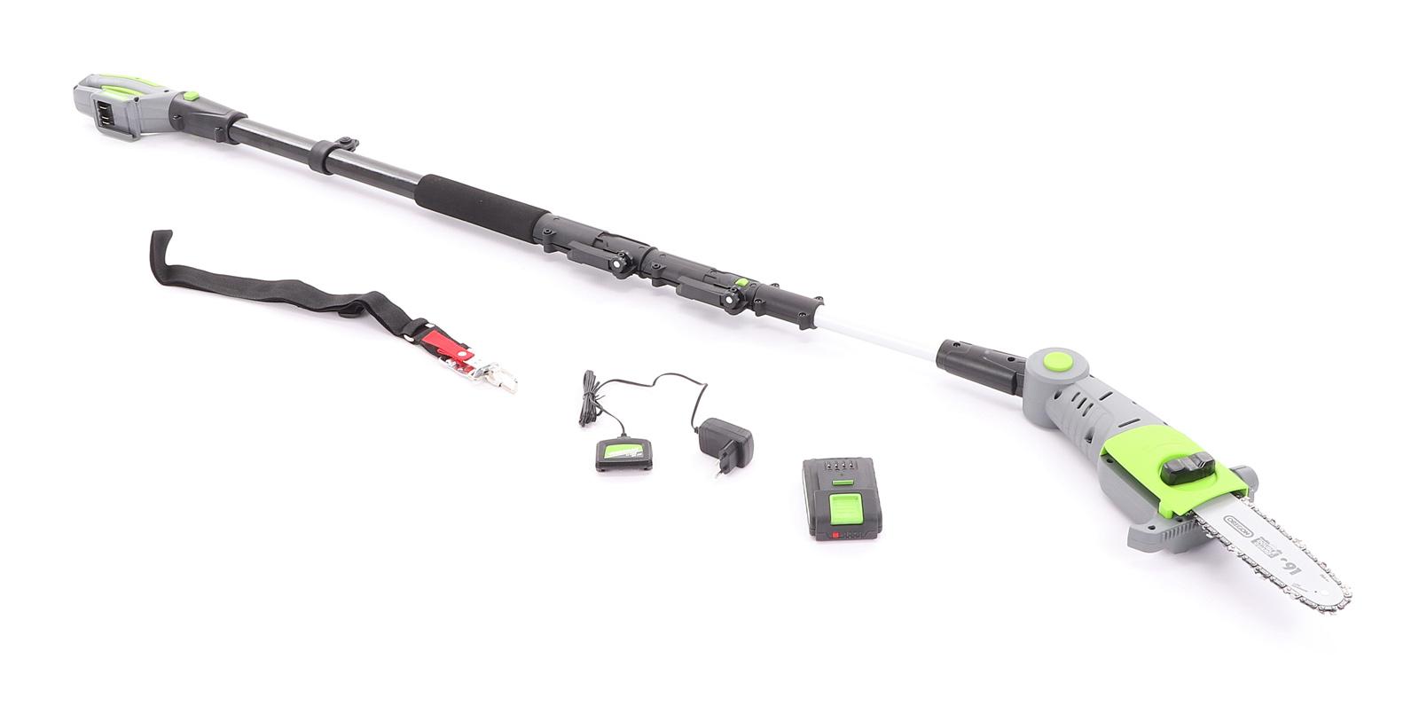VERDEMAX PT20 akumulátorová vyvětvovací pila (včetně nabíječky a akumulátoru 2 Ah)